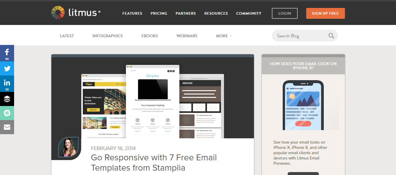 20 Best Responsive Email Templates - Creative WordPress Themes