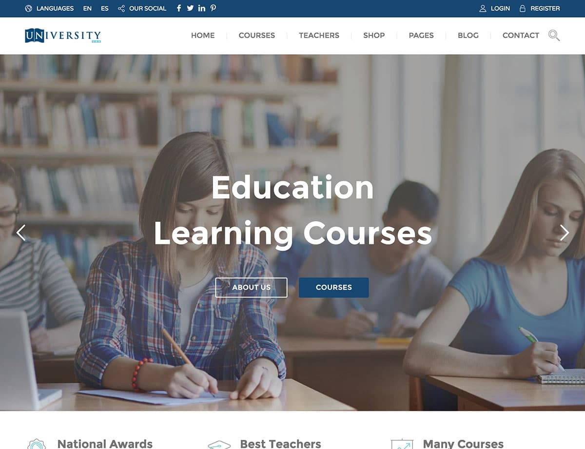 School and Education WordPress Themes